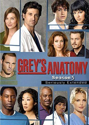 Анатомия Грей (Анатомия страсти) / Grey's Anatomy (5 сезон/2008)